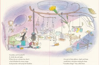 April and Esme are off to their grandparents in Bob Graham's latest book.