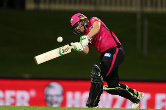 Alyssa Healy led the way for the Sydney Sixers in their WBBL win over the Melbourne Stars in a rain-shortened clash.