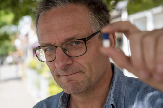 Michael Mosley in his TV doco Addicted to Painkillers.