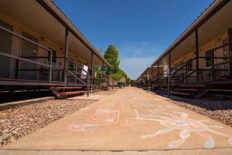 The Howard Springs quarantine facility near Darwin.