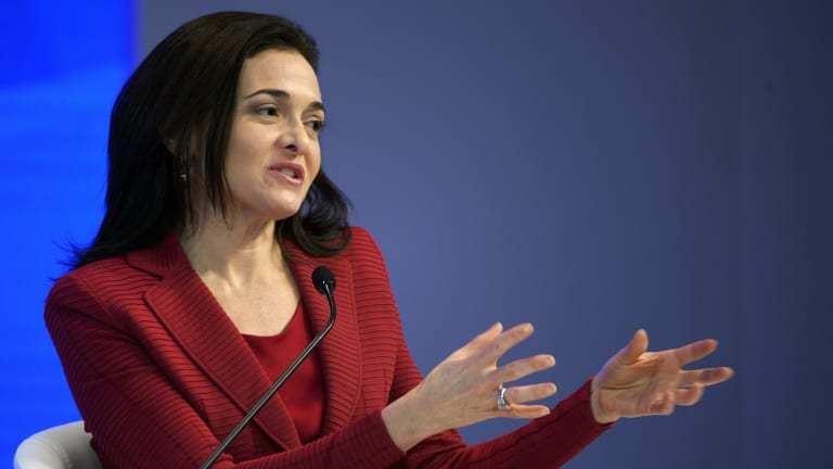 Facebook COO Sheryl Sandberg said it was better to think of careers as a jungle gym than as a ladder.