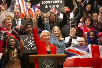 Emma Thompson plays a celebrity-turned-populist-politician in Years and Years.