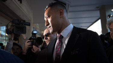 Andrew Hore was also a key figure in the saga surrounding sacked fullback Israel Folau.