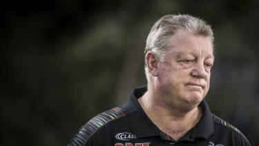 It's time: Departing Penrith general manager Phil Gould.