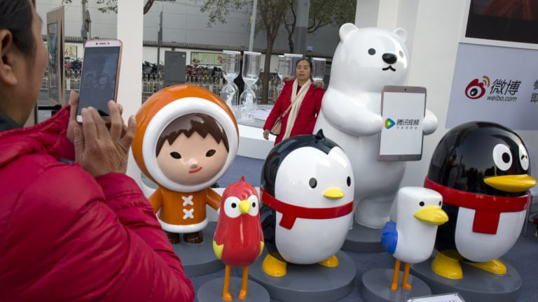 Tencent became one of the hottest stocks in the world with its online games captivating China.