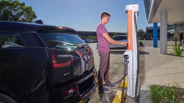 One of the barriers for EVs in Australia is a lack of charging infrastructure.