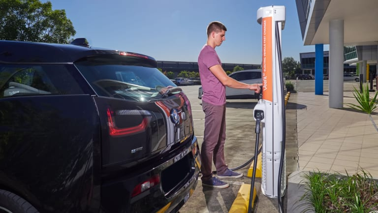 A lack of public charging infrastructure is holding back EV uptake, even though 90 per cent of drivers charge at home.