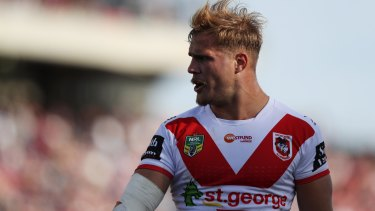 Left out: Jack de Belin's will not play in the Charity Shield in Mudgee.
