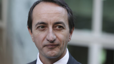 """Dave Sharma said he had a """"watching brief"""" on events in Hong Kong."""