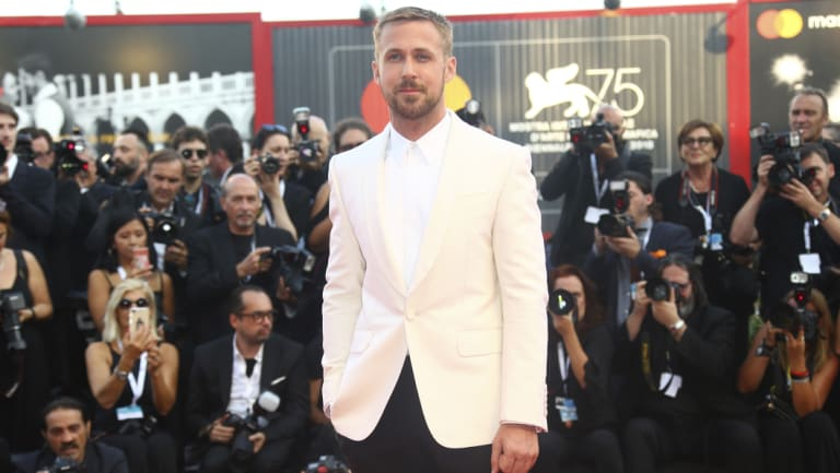 Gosling at the film's premiere at the Venice Film Festival last week.