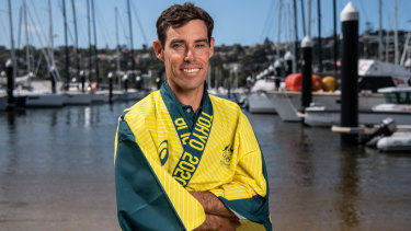 Mathew Belcher is one of the first athletes nominated for Australia's 2020 Olympic Games team.