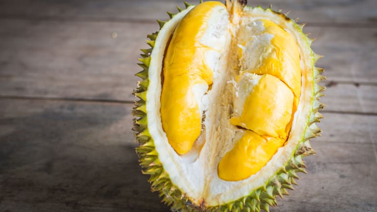 Durian - the fruit known as the smelliest in the world - sparked an evacuation in Melbourne on Saturday.
