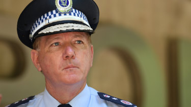 NSW Police Commissioner Mick Fuller has lost a bid to keep a university report recommending legal curbs on strip searches from being added to an inquest into drug deaths at music festivals.