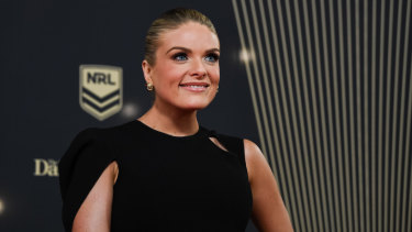 Erin Molan at the 2018 Dally M Awards on Wednesday.
