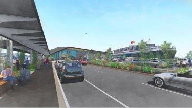 Latest artists impressions of Brisbane's $150 million new cruise ship terminal