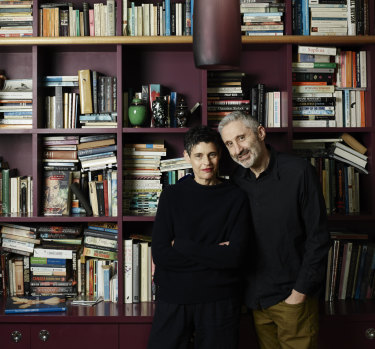 "Deborah Conway and husband Willy Zygier ""finish each other's sentences with music and lyrics""."