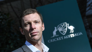 Cricket Australia's new high-performance chief Drew Ginn.