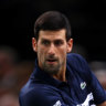 Djokovic, Nadal reach Paris Masters quarters, De Minaur eliminated