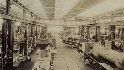 Rail volunteers steaming over plans to shunt them out of workshop
