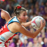 Moving forward, let's keep netball offence on the court