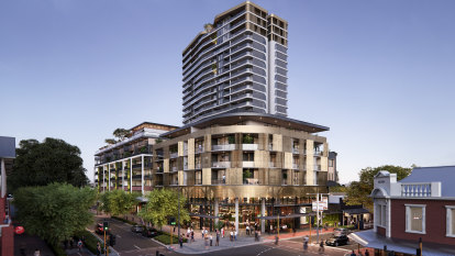 Construction at Subiaco's first luxury high-rise kicks off as east coasters look to buy west