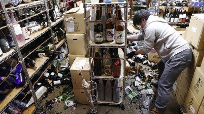Strong quake hits Japan in Fukushima aftershock