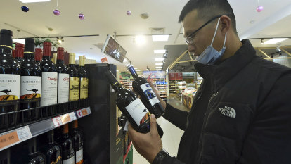 Value of Australian wine exports to China falls 96 per cent