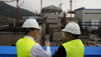 Problems at Chinese nuclear power plant confirmed by French companies