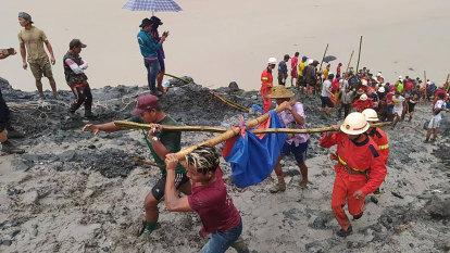 'No time to run': jade miners had no chance to escape 'tsunami'