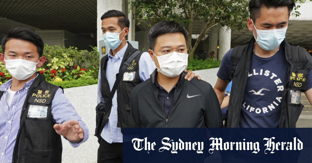 'Much greater terror than last time': Hong Kong police raid newsroom – Sydney Morning Herald