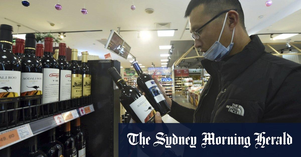 Value of Australian wine exports to China falls 96 per cent – Sydney Morning Herald