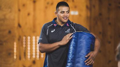 Allan Alaalatoa hopeful of a Brumbies return
