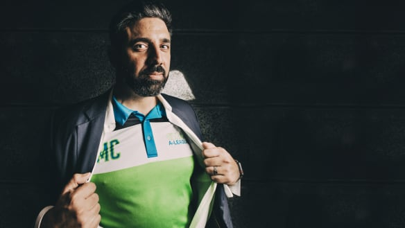 Canberra A-League bid leader Michael Caggiano faces a nervous wait on Wednesday.