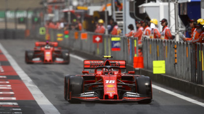 Ferrari should let Leclerc race freely against Vettel: Berger