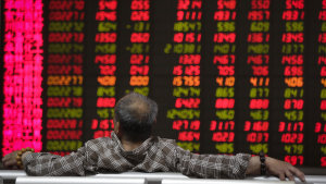 The CSI 300 index leapt almost 6 per cent on Monday and continued to climb on the following days.