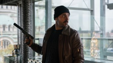 Marco D'Amore plays mid-level gangster Chiro in Gomorrah.