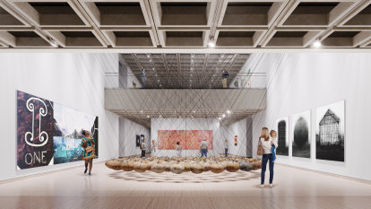 Art Gallery of NSW unveils plans for rejuvenation project