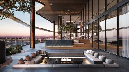 This is what $17 million gets you at the top of Perth's western suburbs