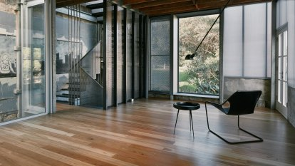 Light touch transforms hat factory into townhouses