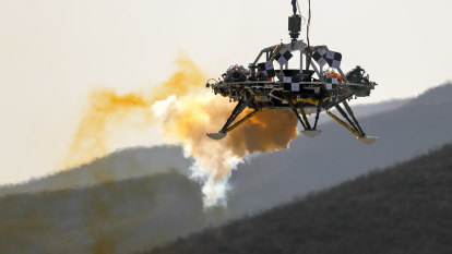 Chinese spacecraft lands on Mars in latest advance for space program