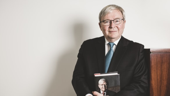 Kevin Rudd: 'There's a tension between forgiveness and not forgetting'
