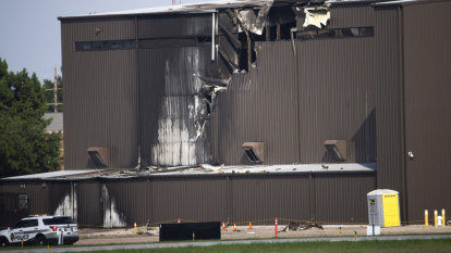 Fatalities reported after plane smashes into hangar near Dallas