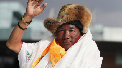 Sherpa sets record with 24 Mount Everest summits