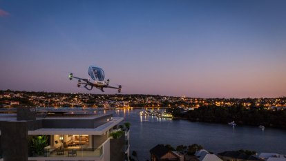 Flying-car landing pads: How a Freo development is looking to the future