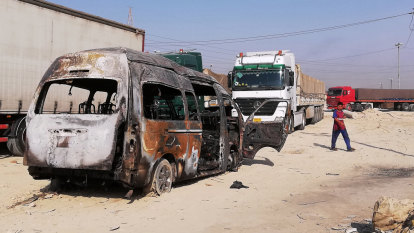 Bus bomb kills 12 people near major Iraqi pilgrimage site