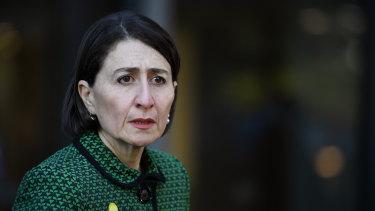 NSW Premier Gladys Berejiklian details plans to boost testing.