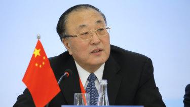 Chinese ambassador Zhang Jun.