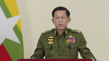 Call for unity: Myanmar Commander-in-Chief Senior General Min Aung Hlaing.
