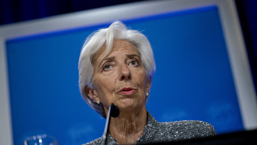 """ECB chief Christine Lagarde said there is """"no need to overreact to euro gains"""", a view at odds with some officials."""