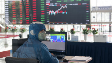 Stocks on the Shanghai Stock Exchange surged despite the pandemic, meagre economic growth and new tensions in the relationship with the US.